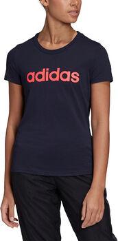 adidas Linear shirt Dames Blauw