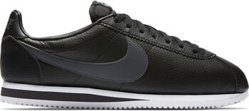 Nike Classic Cortez Leather Heren Zwart