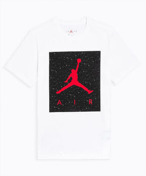 Nike Poolside Cotton Crew shirt Heren Wit