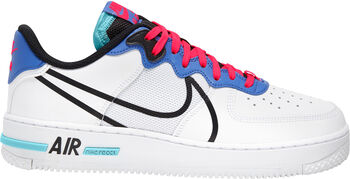 Nike Air Force 1 React sneakers Heren Wit