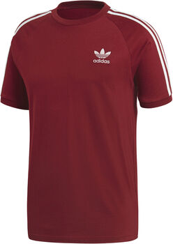 ADIDAS 3-Stripes t-shirt Heren Rood
