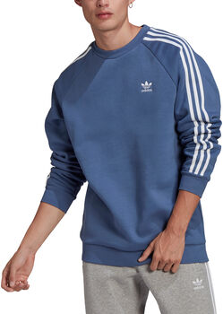 adidas Adicolor Classics 3-Stripes Sweatshirt Heren Blauw