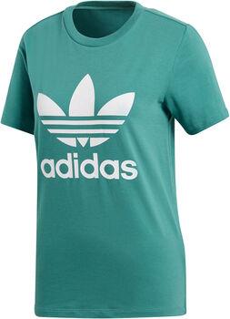 ADIDAS Trefoil t-shirt Dames Blauw