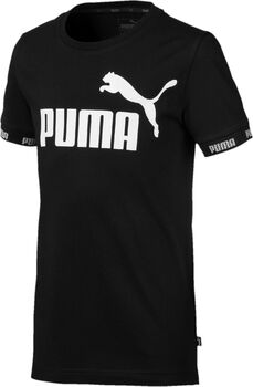 Puma Amplified jr shirt Jongens Zwart