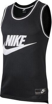Nike Sportswear Mesh tank Heren Zwart