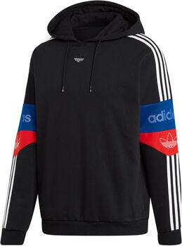 adidas Team Signature Trefoil hoodie Heren Zwart