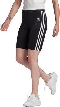 adidas Adicolor Classics Primeblue High-Waisted Korte Legging Dames Zwart