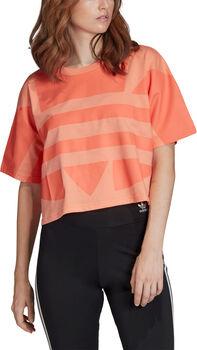 adidas Large Logo shirt Dames Roze