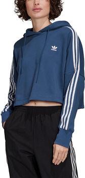 ADIDAS Cropped hoodie Dames Blauw