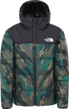 The North Face Reverse Perrito kids jas Jongens Groen