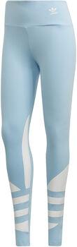 adidas Logo legging Dames Blauw