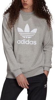 adidas Adicolor Classics Trefoil sweater Heren Grijs