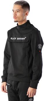 Black Bananas Protect Collar hoodie Heren Zwart
