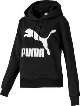 Puma Classics Logo hoodie Dames Zwart