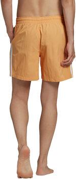 adidas Adicolor Classics 3-Stripes Zwemshort Heren Oranje