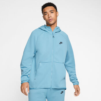 Nike Sportswear Tech Fleece hoodie Heren Blauw