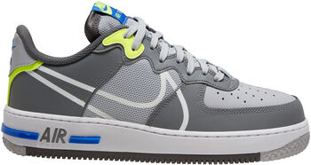 Nike Air Force 1 React sneakers Heren Grijs