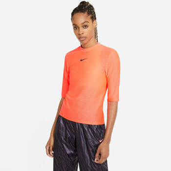 Nike Sportswear Icon Clash t-shirt Dames Oranje