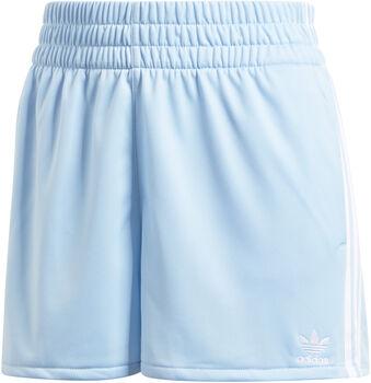 adidas 3-Stripes short Dames Blauw