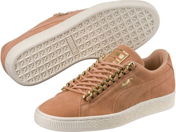 Puma Suede Classic X Chain Dames Rood