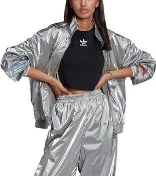 adidas Adicolor Tricolor Silver Japona vest Dames Grijs