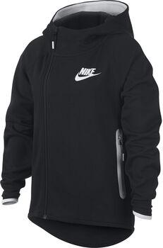 Nike Sportswear Tech Fleece hoodie Meisjes Zwart