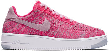 Nike Air Force 1 Flyknit sneakers Dames Rood