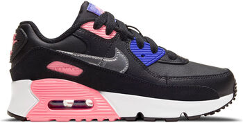 Nike Air Max 90 Leather kids sneakers Zwart
