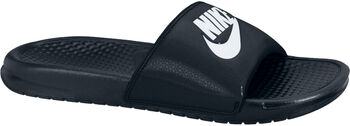 Nike Benassi JDI slippers Heren Zwart