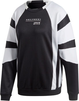 ADIDAS EQT sweatshirt Dames Zwart