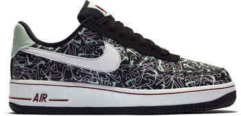 Nike Air Force 1 '07 Valentine's Day sneakers Dames Zwart