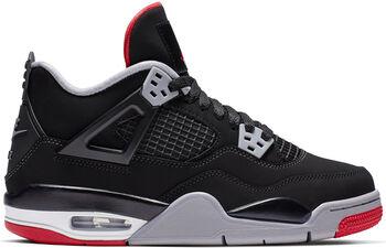 3db8ad95991 Nike Air Jordan 4 Retro sneakers Jongens Zwart