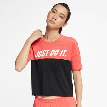 Nike Tailwind shirt Dames Oranje