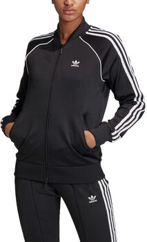 adidas SST trainingsjack Dames Zwart