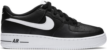 Nike Air Force 1 kids sneakers Jongens Zwart