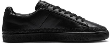 Puma Basket Trim sneakers Heren Zwart