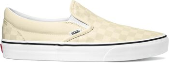 Vans Classic Slip-on sneakers Heren Ecru