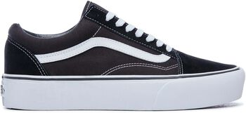 Vans Old Skool Platform sneakers Dames Zwart