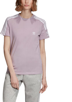ADIDAS 3-Stripes T-shirt Dames Paars