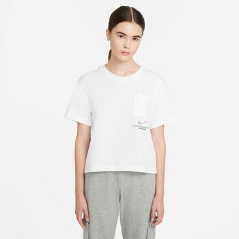 Nike Sportswear Swoosh shirt Dames Wit
