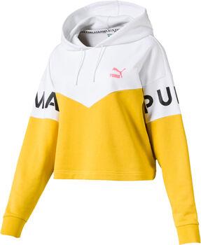 Puma XTG hoodie Dames Geel