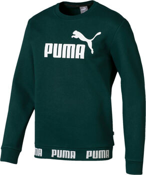 Puma Amplified Crew sweater Heren Groen