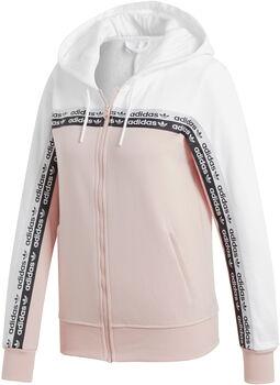 adidas TT hoodie Dames Wit