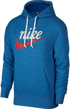 Nike Men's Graphic Pullover Hoodie Heren Blauw