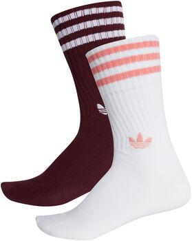 adidas Solid Crew 2pp sokken Heren Rood