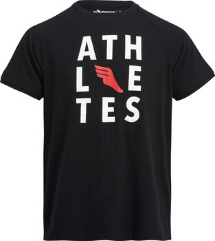 The Athlete's Foot Auber I shirt Heren Zwart
