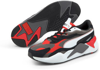 Puma RS-X3 Twill Air Mesh sneakers Heren Grijs