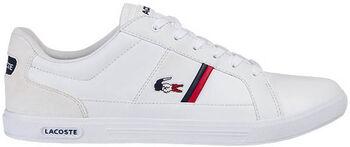 Lacoste Europa Tri 1 sneakers Heren Wit