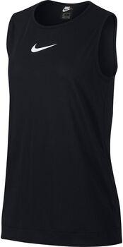 Nike Sportswear Swoosh top Dames Zwart