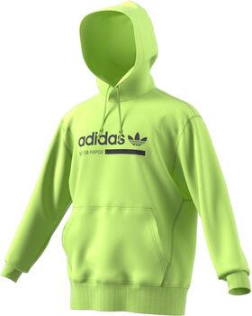 ADIDAS Graphic hoodie Heren Geel